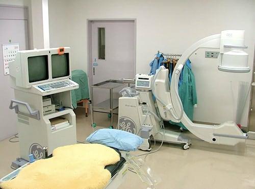 血管造影室